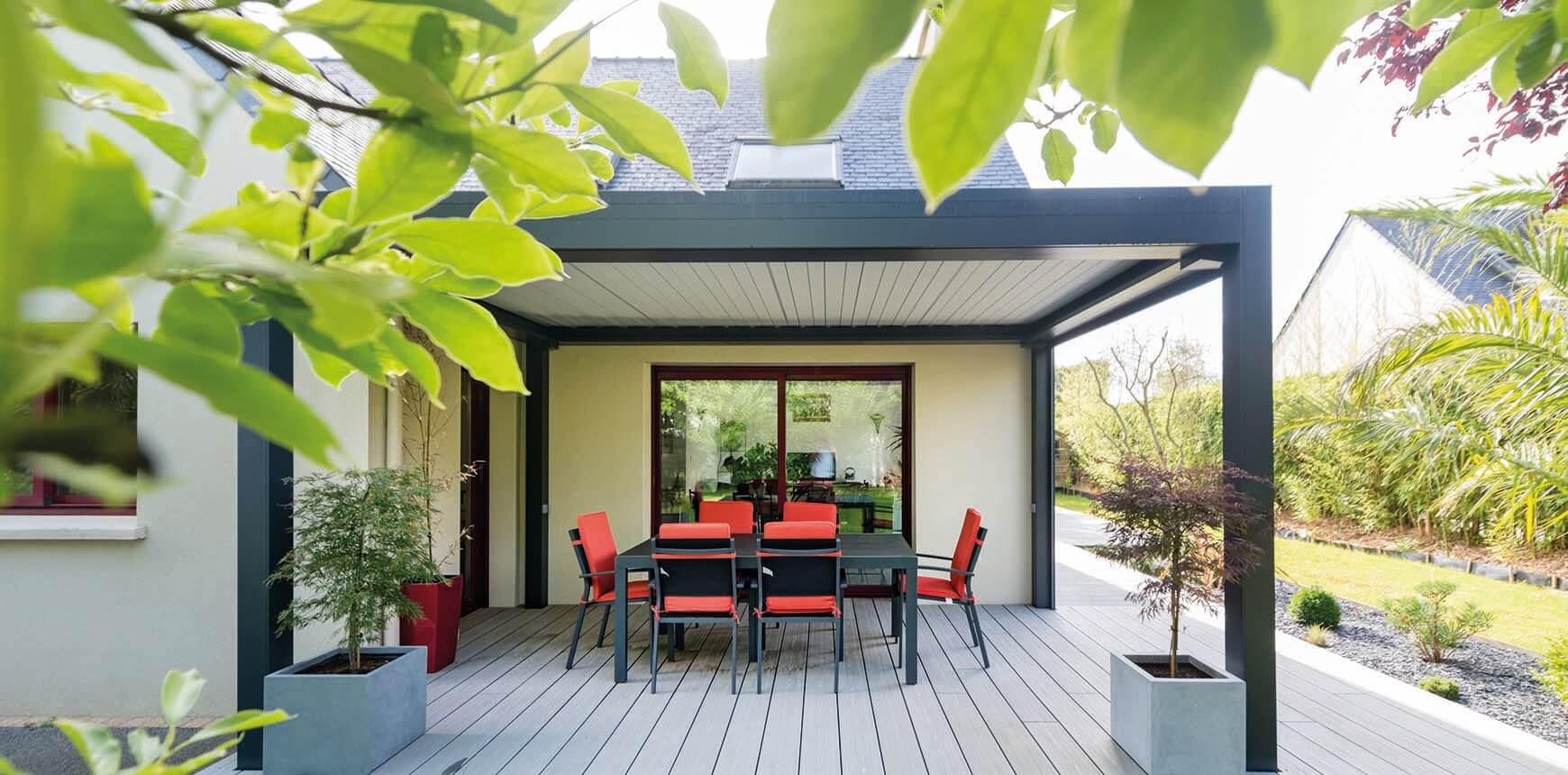 créez un espace d'ombre dans votre jardin